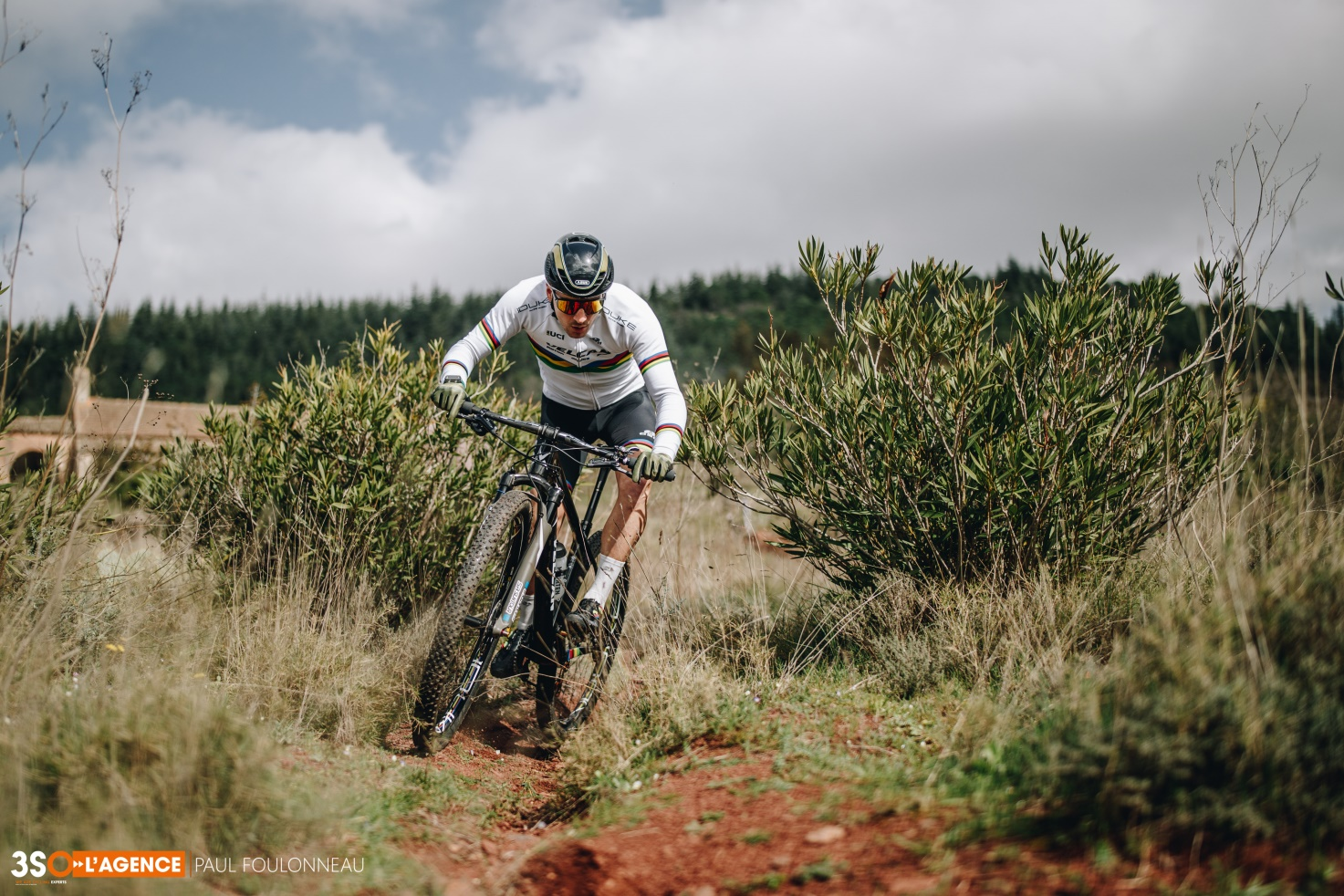 XCE World Champion Titouan Perrin-Ganier in action.