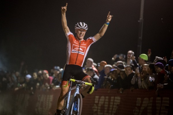 Lance Haidet Winning RenoCross (image courtesy of Donnelly Racing)