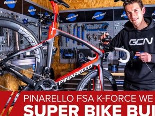 GCN Tech: Super Bike Build with K-Force WE groupset