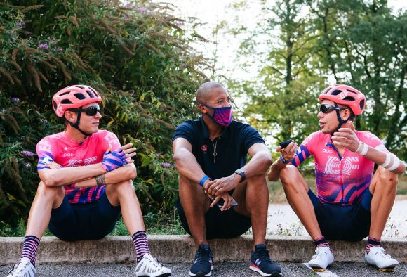 A day with the EF Pro Cycling staff (ph. Gruber)