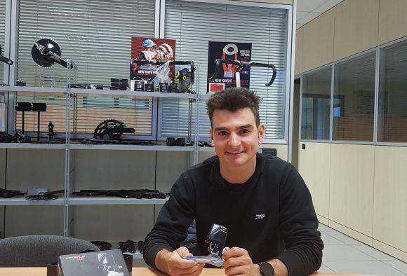 Gioele Bertolini in FSA Headquarters.