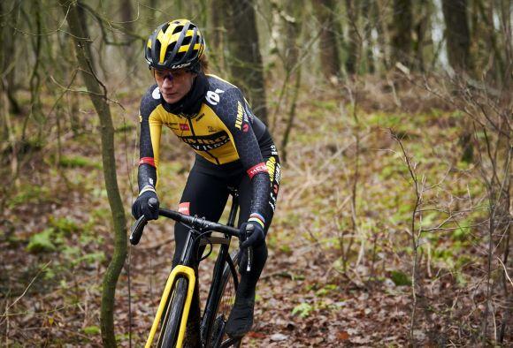 The dutch champion Marianne Vos of Team Jumbo-Visma