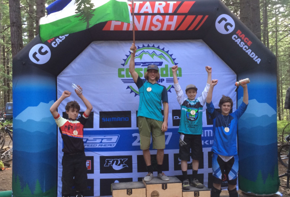 3rd Place finish for Super Grom Louie Blair