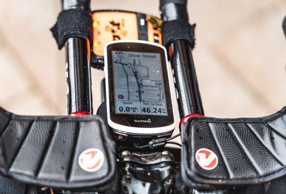 An unusual choice: the Vision aero cockpit on bike