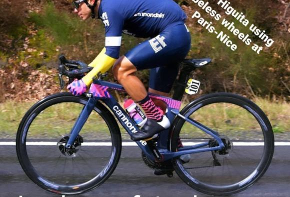 EF Pro Cycling Service Course take over