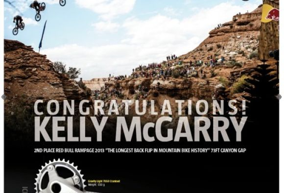 Kelly's unforgettable backflip @ Redbull Rampage