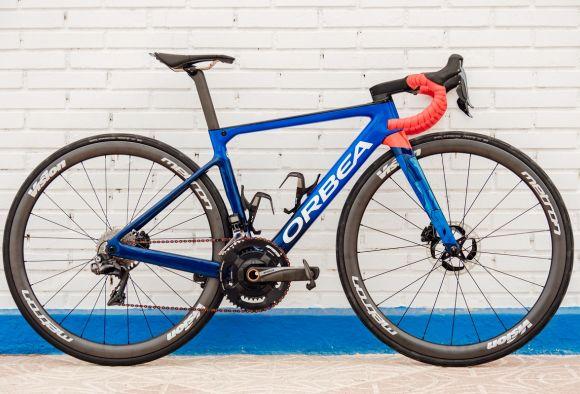 Ceratizit WNT Cycling Orbea bike.
