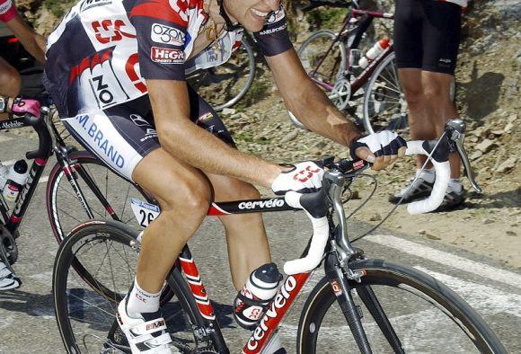 Carlos Sastre in action at TDF