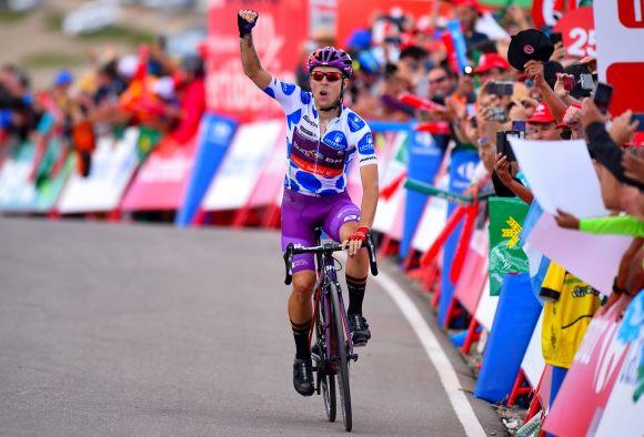 Angel Madrazo win at La Vuelta