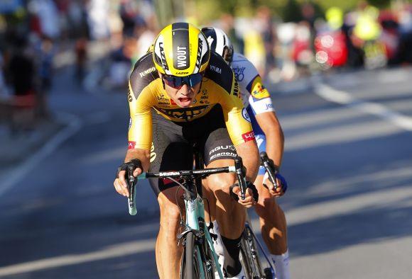 Wout Van Aert attack, Milano-Sanremo (Ph. Bettini)