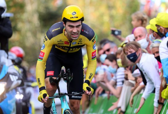 Tom Dumoulin with Metron TFE Pro extensions.