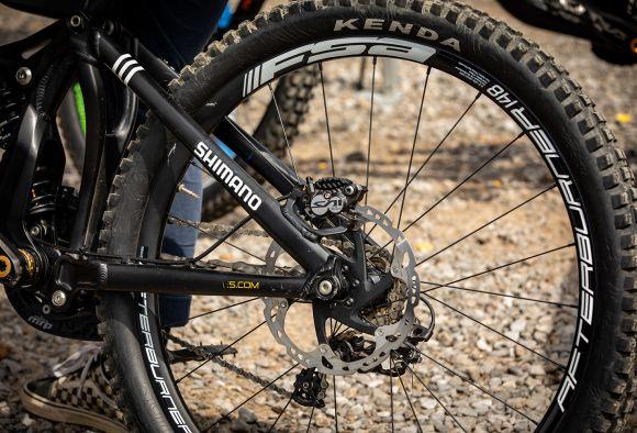 Custom Team stickered Afterburner Boost Wheels